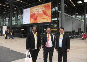 Bangladesh Delegats at World Media Forum-Bonn, Germany-2011