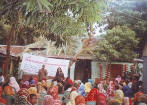 DCA Pro-Meeting on Womens Day at Keranigonj-2008