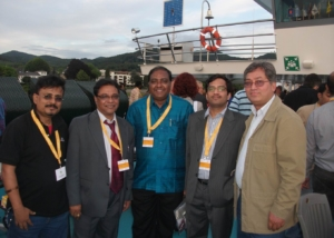 Delegates at World Media Forum in Bonn-2011