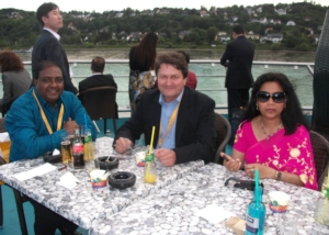 Delegats at World Media Forum in Bonn-2011
