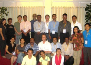 Diplomacy Training Program Participants in Manila-2008