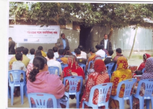 EU-DCA Pro-Migrant Family Meeting at Mithapukur-2011