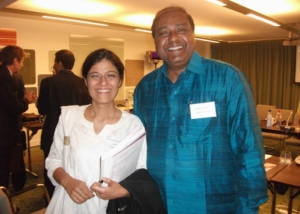 EU Meeting at Brussels with Seeta from DCA-2011