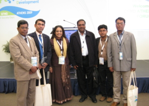 GFMD-Bangladesh Delegation at Athens, Greece-2009