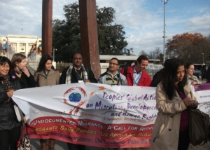 GFMD-PGA Rally in front of UN Office at Geneva-2011