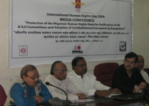 HR Day-Media Discussent at Press Club, Dhaka-2008