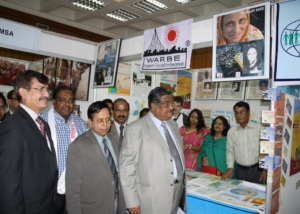 IMD-Minister Visited WARBE Stall at Dhaka-2010