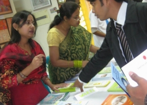 IMD-WARBE Stall at Usmani Auditorium-Dhaka-2010