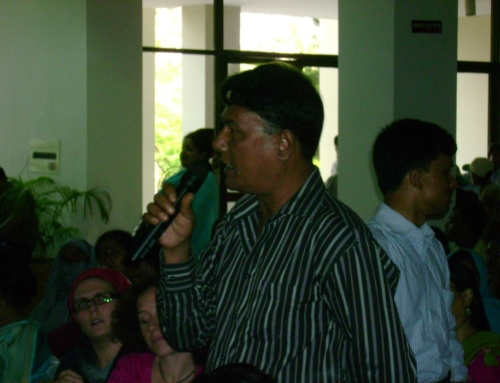MJF Seminar on Migrants Contribution at Dhaka-2010