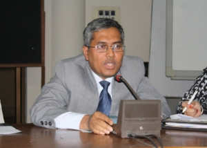 Mr. Kazi Abul Kalam at Seminar on Women, Dhaka-2009