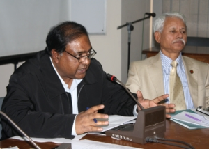 Mr. Saiful Haque at Seminar on Women, Dhaka-2009