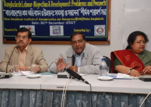 Mr. Saiful at Consultation on Migration, Dhaka-2007