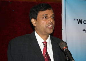 Mr. Selim Reza at Seminar on Women, Dhaka-2009