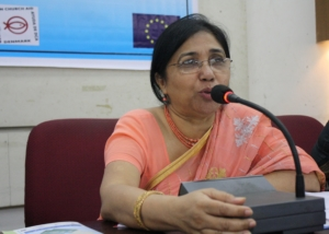 Ms. Shaheen Anam at Seminar on Women, Dhaka-2009