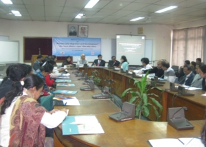 National Seminar on Women Migration at Dhaka-2009