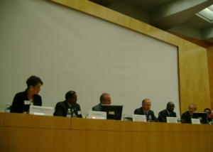 Panel Discussent at Conference on Migration at Geneva-2008