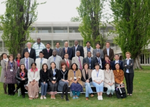 Participants of ILO Training on MigrationTurin, Italy-2008