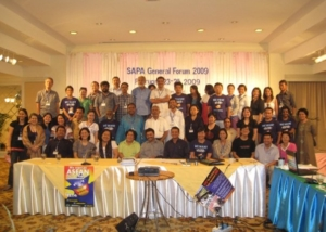 SAPA General Forum Delegates at Bangkok-2009
