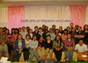 SAPA Meeting Participants in Bangkok-2007