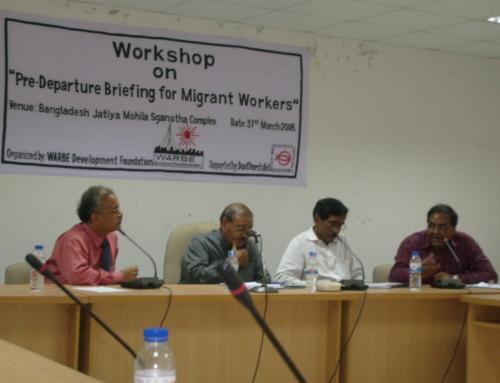 Workshop on Pre-departure Briefing, Dhaka-2008