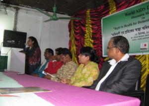 Worlds AIDS Day-Discussion Meeting-Muktagacha-2010