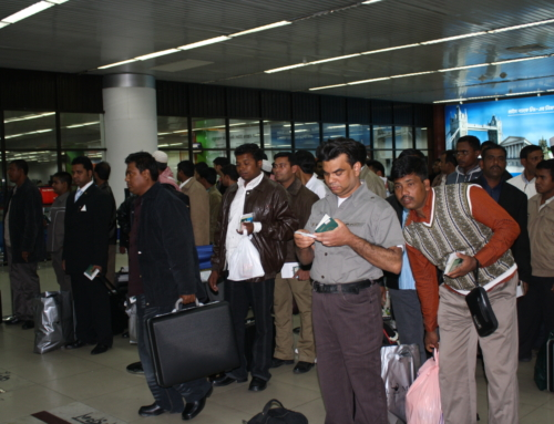Migration Scenario at airport