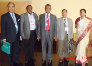 GFMD-Bangladesh Delegation at Port Luise, Marituties-2012