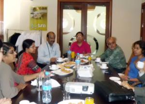GFMD-Bangladesh Govt. Delegats at Mauritius-2012