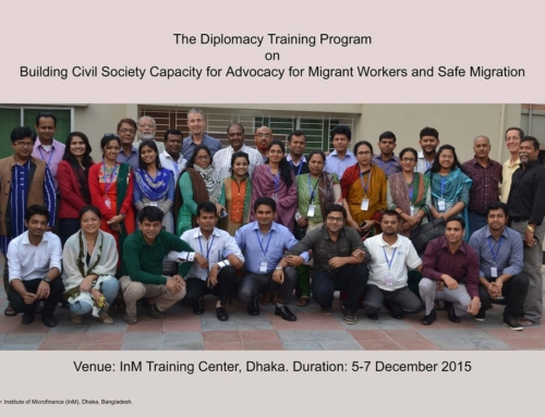 Group Photo During 1st Module of DTP