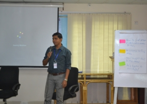 Group Presentation in Diplomacy Training Program