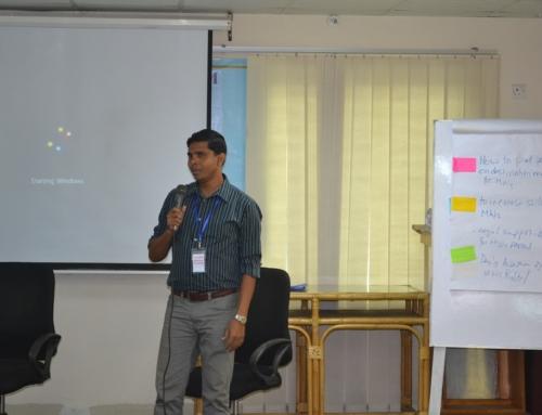 Group Presentation in Diplomacy Training Program
