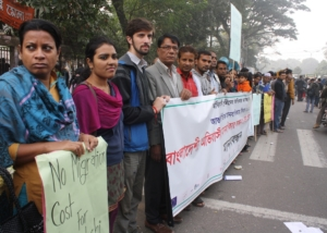 HR Day-Human Chain for Protection of Migrants Rights-Dhaka-2012