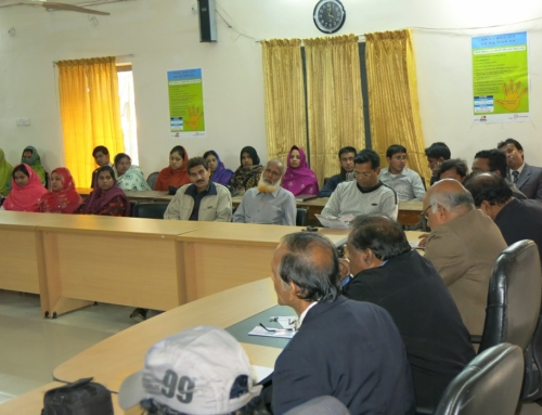 Inauguration of Vocational training center in Tangail-2013