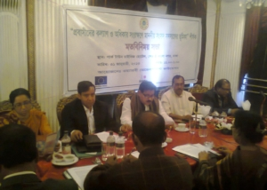 Meeting with Parliamentary Members on Migrants Issues at Dhaka-2013