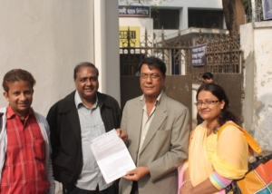 Memorendum Submitted to the Prime Minister of Bangladesh at Dhaka-2012