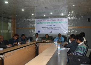 Migrants Rights Network Meeting at Reporters Unity, Dhaka-2012
