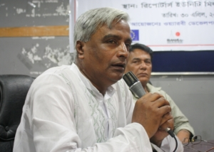 Mr. Abul Hossain at CSO Networks Meeting, Dhaka-2012