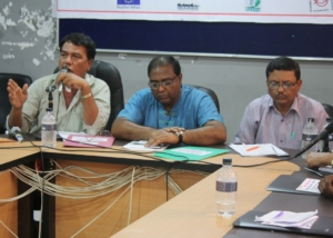 Mr. Faruque at Migrants Networks meet at Dhaka-2012