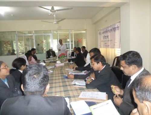 National Consultation in Tangail