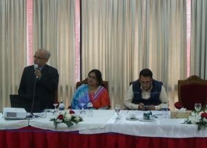 Presentation of Dr. Md. Nurul Islam at Parliaments Member Club