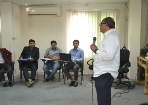 Presentation of Mr. Nur Khan Liton in DTP-1st Module at InM