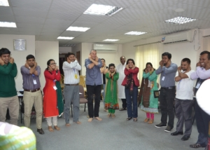 Recap and refreshment during DTP Training