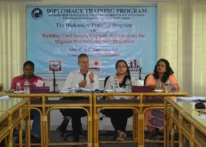 Trainers of DTP at Institute of Microfinance