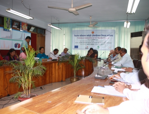 Workshop on Sustainability of Projects at BMET Conference Room, Dhaka-2012