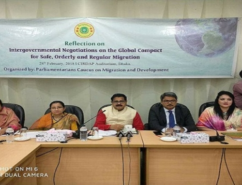 Reflection on Intergovernmental Negotiations on the Global Compact for Safe, Orderly and Regular Migration